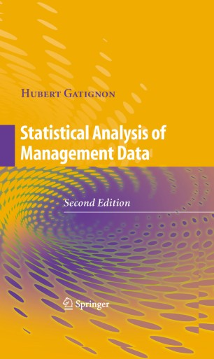 Statistical Analysis of Management Data