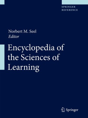 [Encyclopedia of the Sciences of Learning]