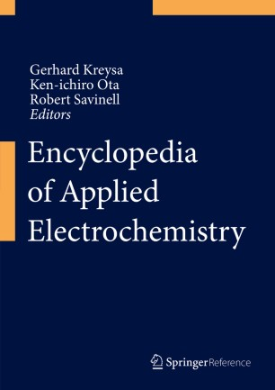 [Encyclopedia of Applied Electrochemistry]