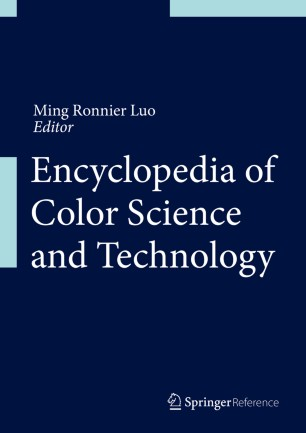[Encyclopedia of Color Science and Technology]