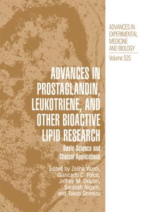Advances in Prostaglandin, Leukotriene, and other Bioactive Lipid Research