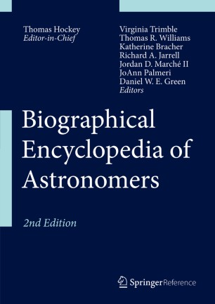 [Biographical Encyclopedia of Astronomers]