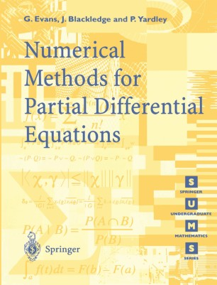 Numerical Methods for Partial Differential Equations ...