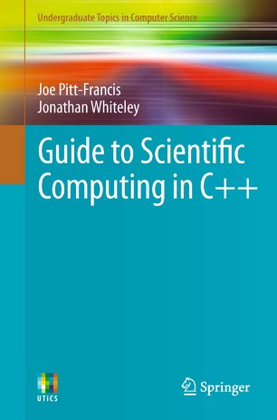 Guide to Scientific Computing in C++ | SpringerLink