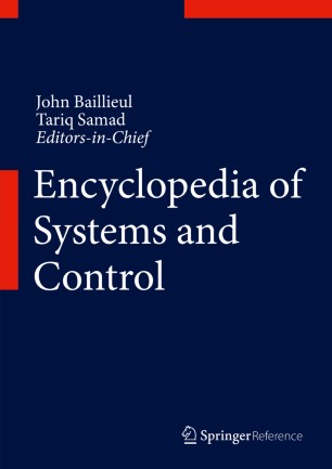 [Encyclopedia of Systems and Control]