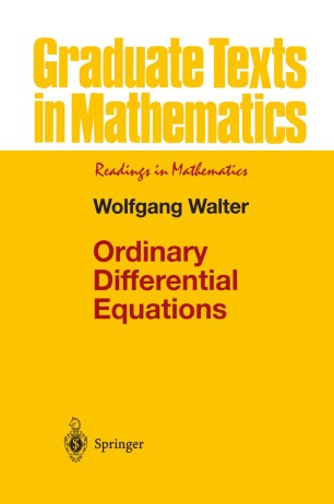 Ordinary Differential Equations | SpringerLink