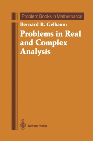 Problems in Real and Complex Analysis   SpringerLink