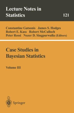 Case Studies in Bayesian Statistics | SpringerLink