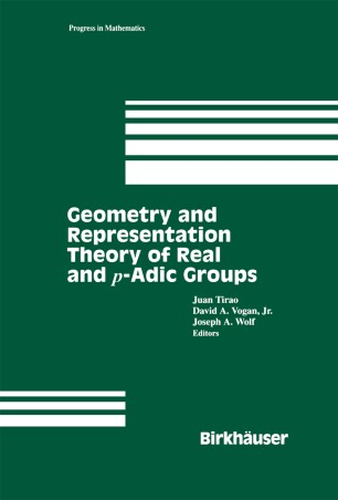 Geometry and Representation Theory of Real and p-adic groups
