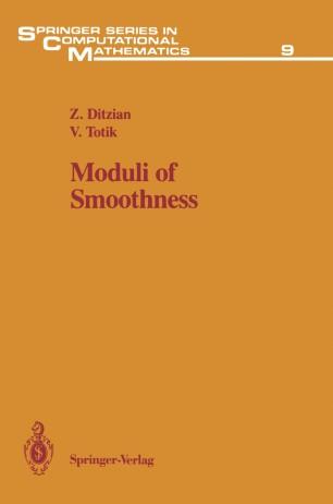 Moduli of Smoothness