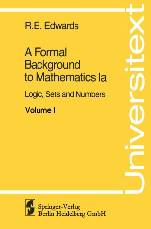 A Formal Background to Mathematics