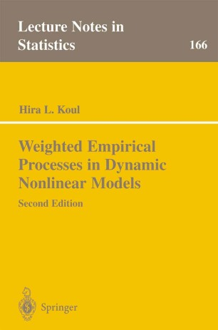 Weighted Empirical Processes in Dynamic Nonlinear Models (Lecture Notes in Statistics)