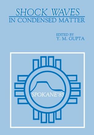 Shock Waves in Condensed Matter