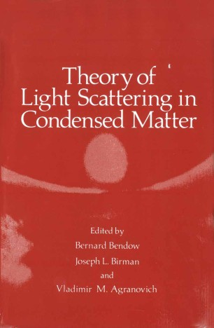 Theory of Light Scattering in Condensed Matter