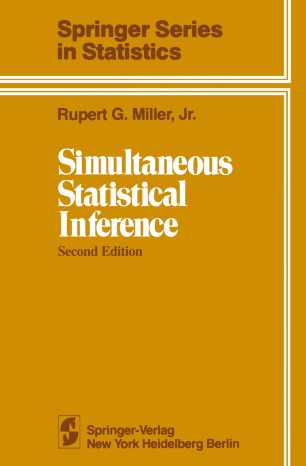 Simultaneous Statistical Inference by Thorsten Dickhaus ...