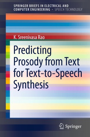 Predicting Prosody from Text for Text-to-Speech Synthesis