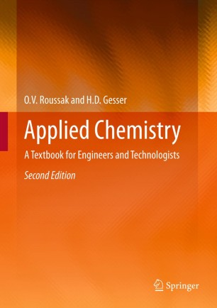 obálka Applied Chemistry: A Textbook for Engineers and Technologists