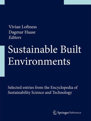 Sustainable Built Environments :