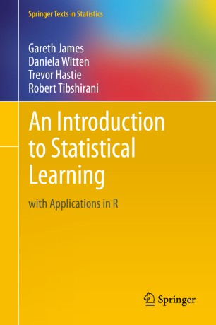 Data Science opleiding: An Introduction to Statistical Learning with Applications in R