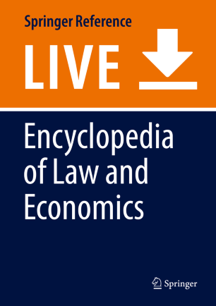 [Encyclopedia of Law and Economics]