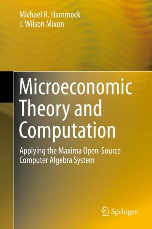 Microeconomic Theory and Computation