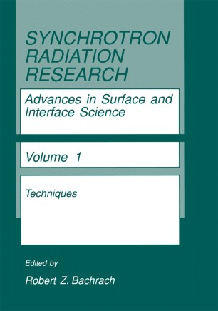 Synchrotron Radiation in Materials Science: Light Sources, Techniques, and Applications