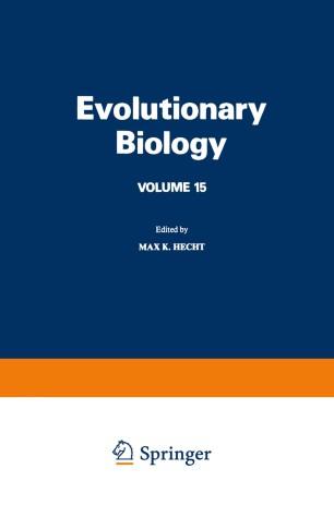 Evolutionary Biology: Volume 15