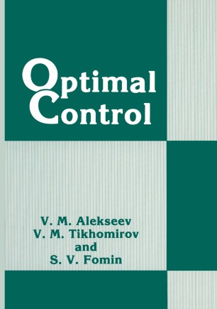 Optimal control theory Applications to management science
