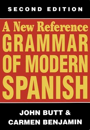 A New Reference Grammar of Modern Spanish | SpringerLink