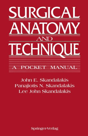 Surgical Anatomy And Technique Springerlink