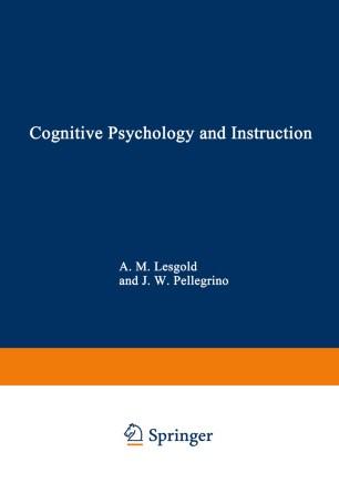 cognitive instruction