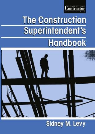 The Construction Superintendent's Handbook | SpringerLink