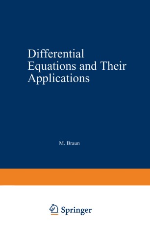 Differential Equations and Their Applications | SpringerLink