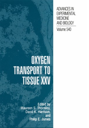Oxygen Transport to Tissue XXV