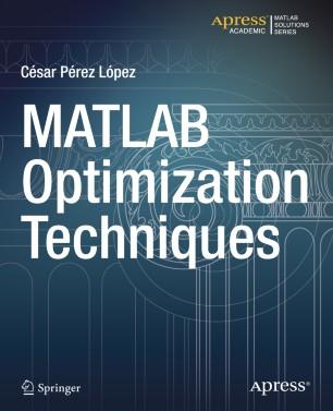 MATLAB Optimization Techniques | SpringerLink