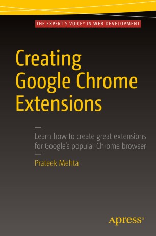 create chrome extension tutorial