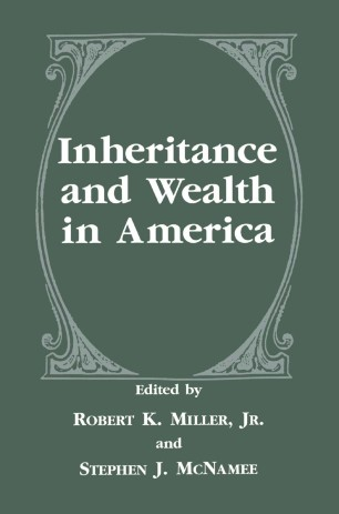 Inheritance And Wealth In America Springerlink