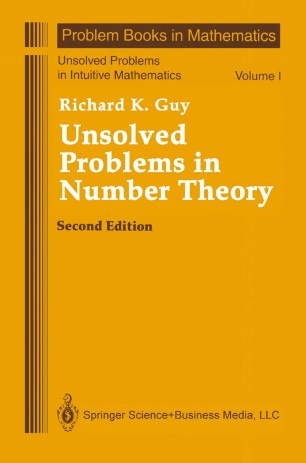 Solved and Unsolved Problems in Number Theory (CHEL/297)