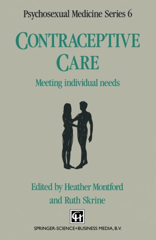 Contraceptive Care : Meeting individual needs