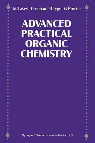 Advanced Practical Organic Chemistry | SpringerLink