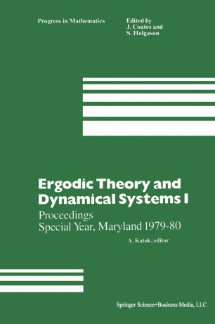 Ergodic Theory and Dynamical Systems I