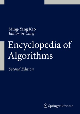 [Encyclopedia of Algorithms]