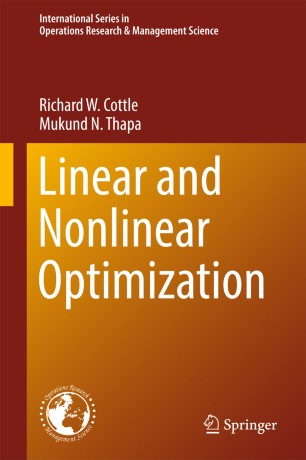 Nonlinear Programming: 3rd Edition