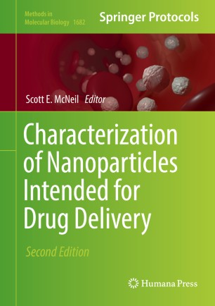 Characterization of Nanoparticles Intended for Drug Delivery :