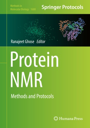 Protein NMR : Methods and Protocols