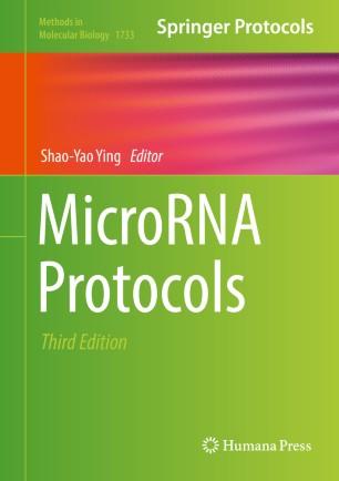 MicroRNA Protocols