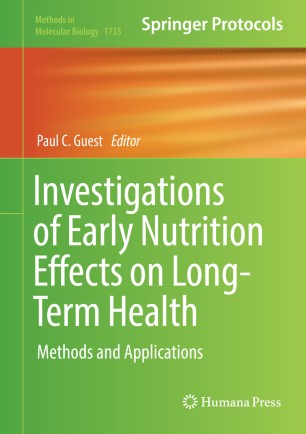 Investigations of Early Nutrition Effects on Long-Term Health