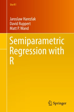 Semiparametric Regression with R | SpringerLink