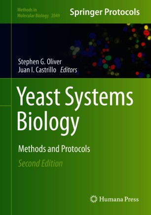 [Yeast Systems Biology book cover]
