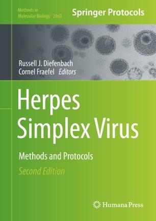 Herpes Simplex Virus Methods Protocols 978-1-4939-9814-2